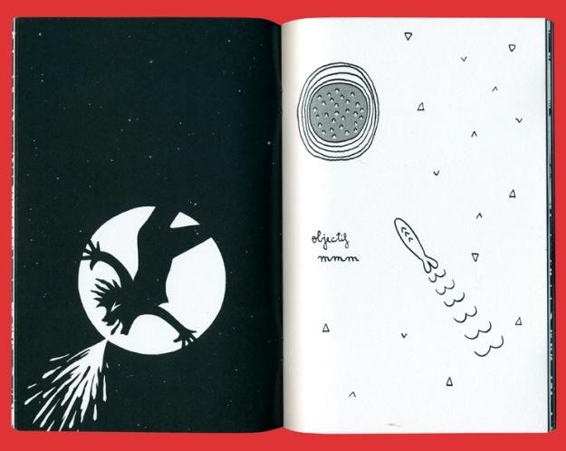 """Pages pour le fanzine collectif """"Objectif Moon"""". Par le collectif Indélébile pour le FOFF Angoulême. Janvier 2015."""